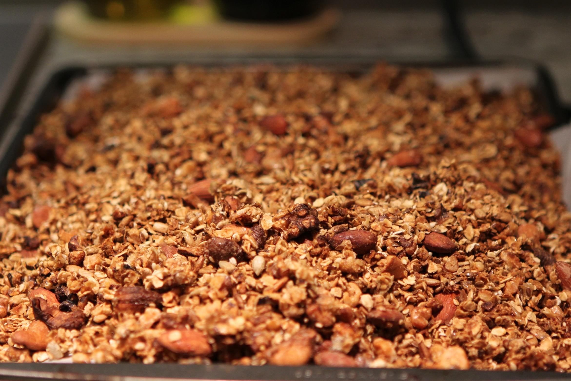 Homemade Granola (photo: Raphael Marinho)